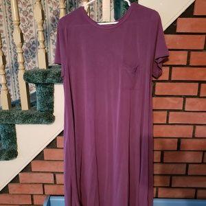 Lularoe purple modal Carly dress